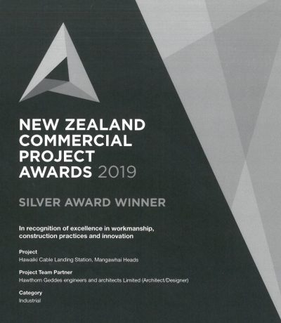 Hawaiki Cable Landing Station collects Silver - Teaser Image