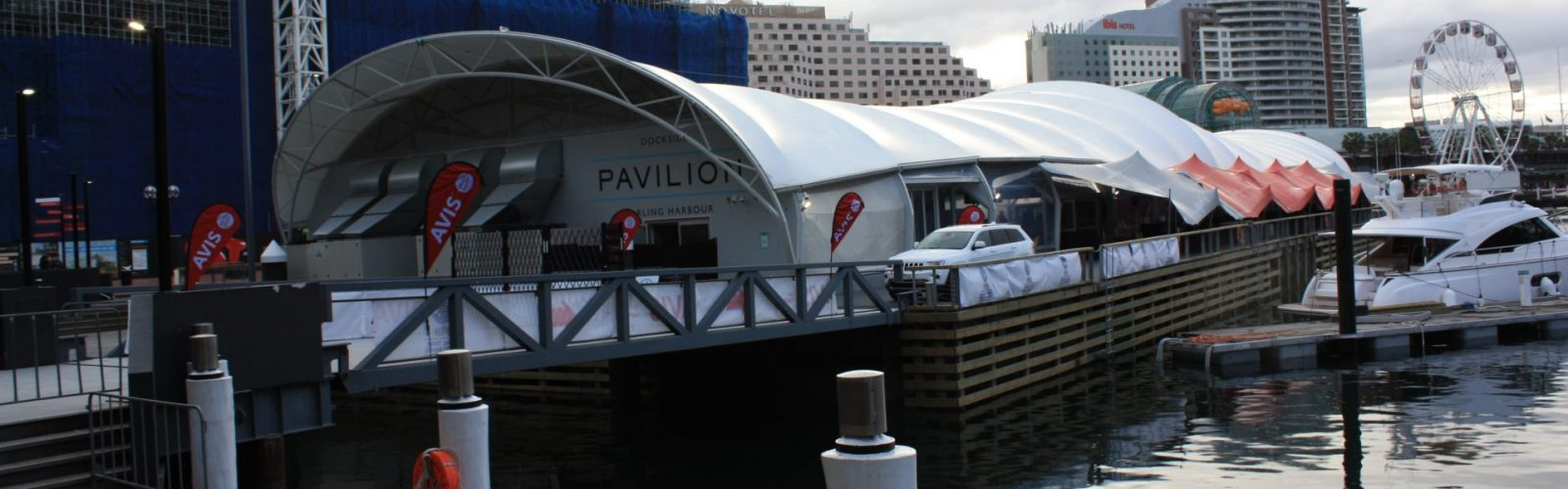 Dockside Events Pavilion Pontoon - Header Image