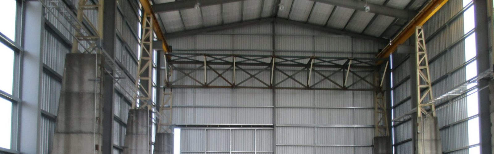 Bay 8 gantry crane enclosure - Header Image