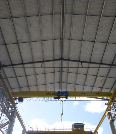 Bay 8 gantry crane enclosure - Teaser Image