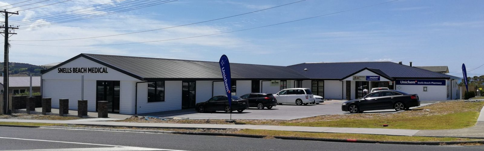 Snell's Beach Medical Centre - Header Image